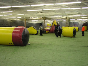 Paintballing Indoors